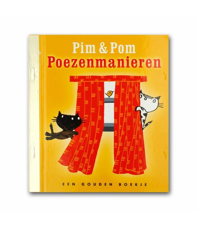 Golden Book - Pim en Pom Poezenmanieren (book in Dutch) - Mies Bouhuys
