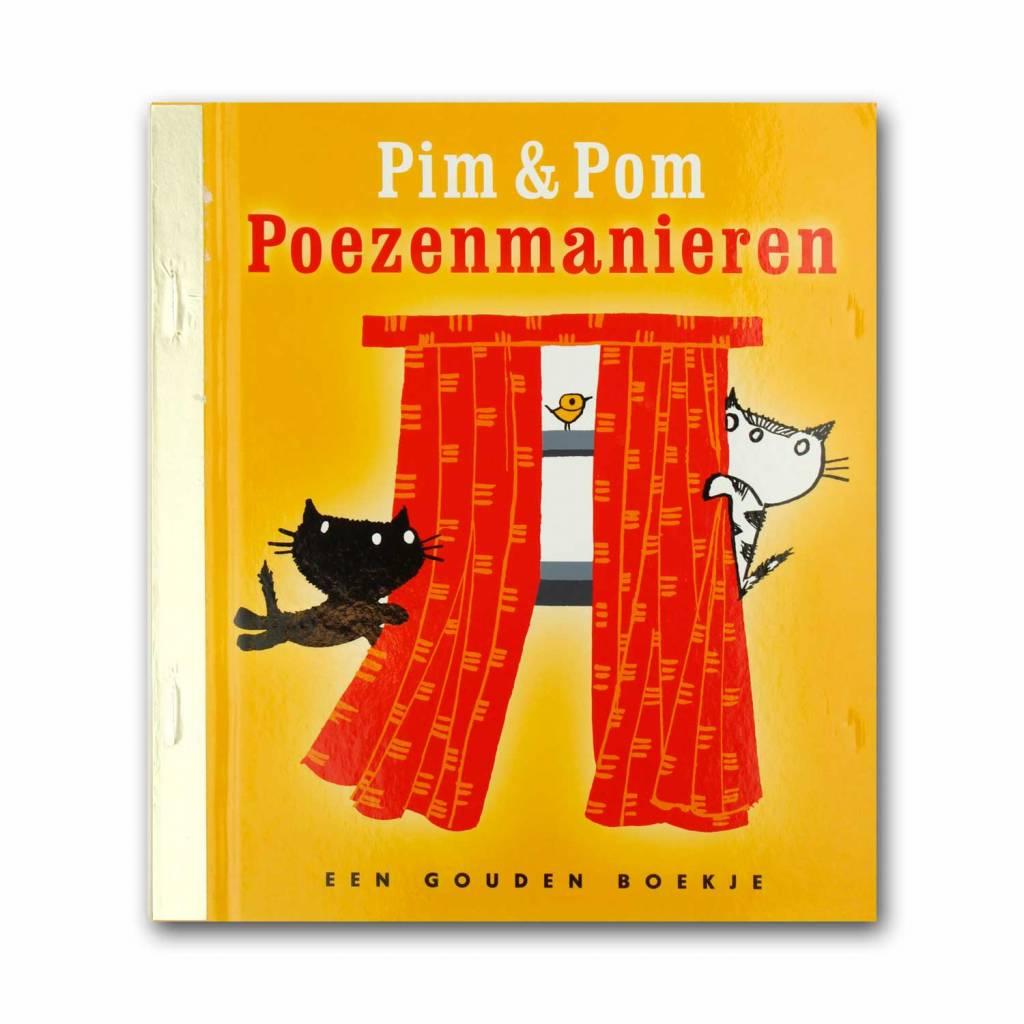 Rubinstein Golden Book - Pim en Pom Poezenmanieren (book in Dutch) - Mies Bouhuys