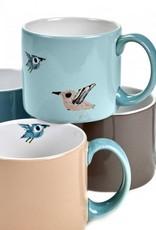 Serax Mugs 'Birds', set of 4, Fiep Westendorp