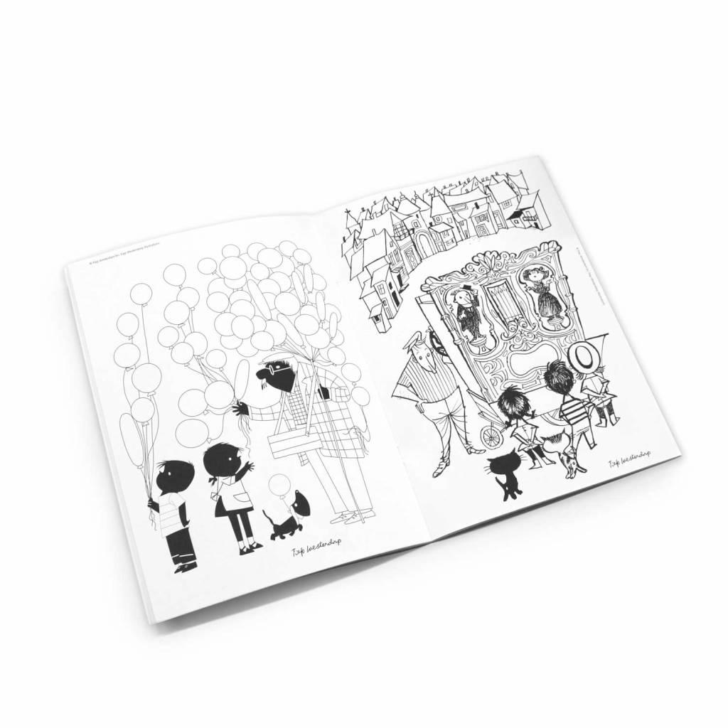 BBNC Het grote kleurboek van Fiep Westendorp, softcover