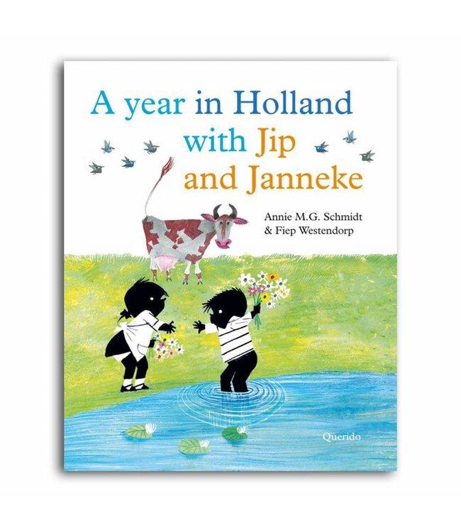 A year in Holland with Jip and Janneke (in het Engels) - Annie M.G. Schmidt