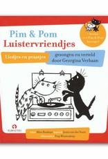 Rubinstein Pim en Pom Luistervriendjes (boek met CD) - Mies Bouhuys