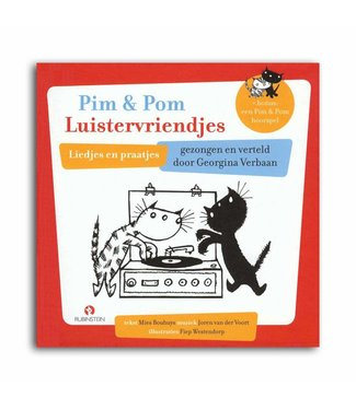 Rubinstein Pim & Pom Luistervriendjes (boek met CD)