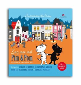 Rubinstein Zing Mee Met Pim & Pom (Dutch book with CD)