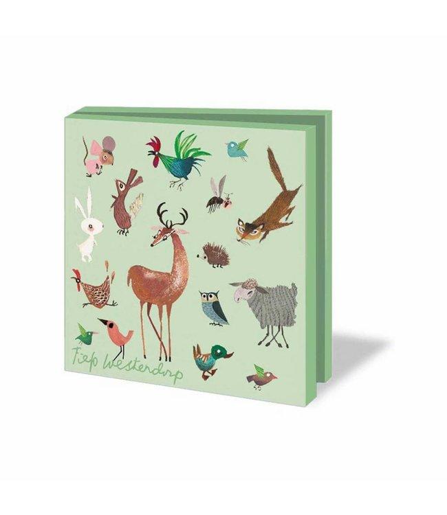 Bekking & Blitz Card Wallet, Animals