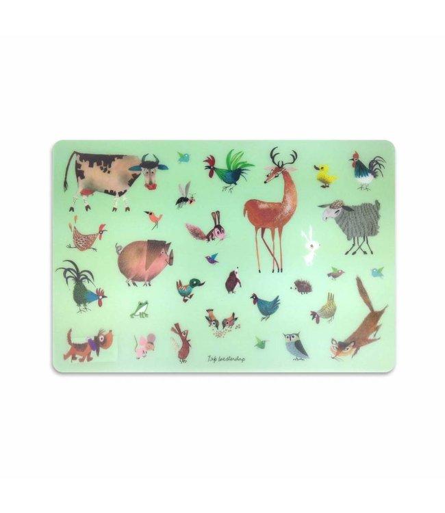 Placemat, Animals - Fiep Westendorp