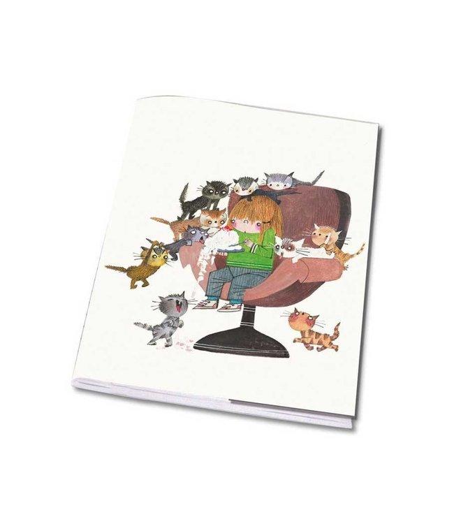 Notebook A5 'Cats' - Fiep Westendorp