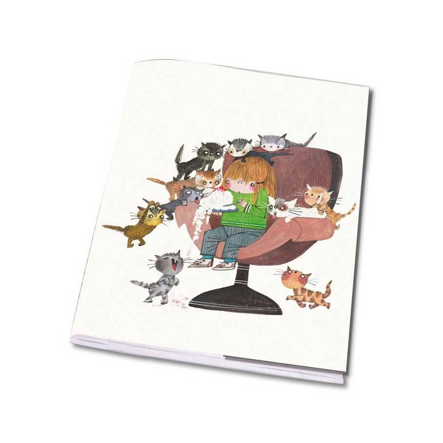 Bekking & Blitz Notebook A5 'Cats' - Fiep Westendorp