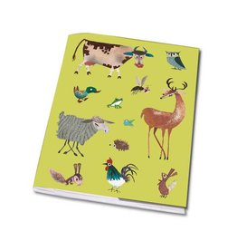 Bekking & Blitz Notebook A5 'Animals'