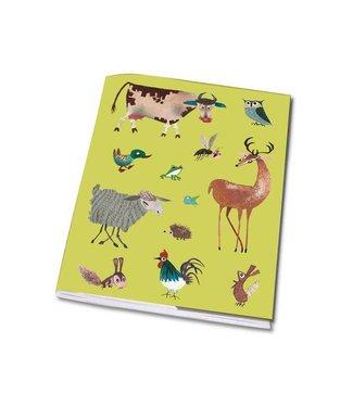 Bekking & Blitz Notebook A5 'Animals'