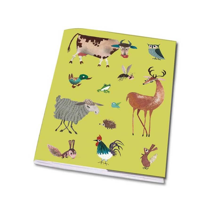 Bekking & Blitz Notebook A5 'Animals' - Fiep Westendorp