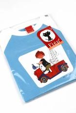 Fiep Amsterdam BV Longsleeve T-Shirt 'The Red Tow Truck' - Fiep Westendorp