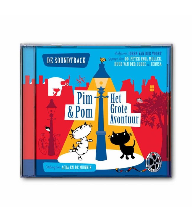 Music CD 'Pim and Pom, Het Grote Avontuur' (in Dutch) - Mies Bouhuys and Fiep Westendorp