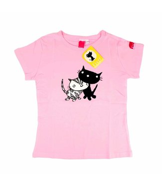 Fiep Amsterdam BV T-Shirt Pim en Pom, roze