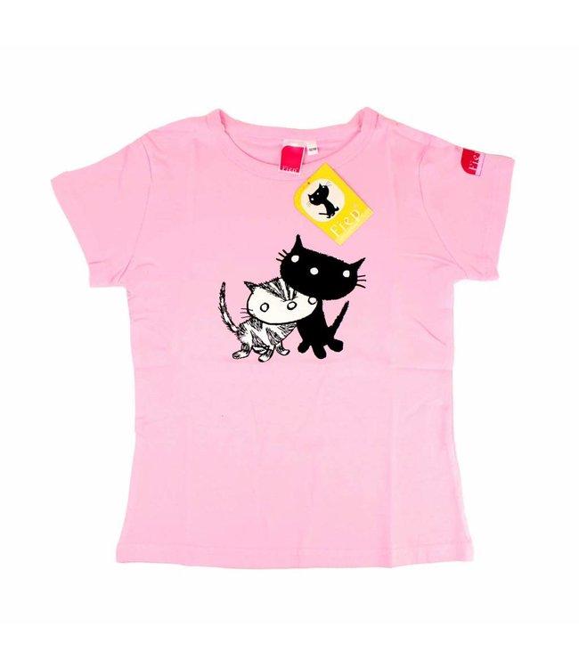 Fiep Amsterdam BV T-Shirt Pim and Pom, pink