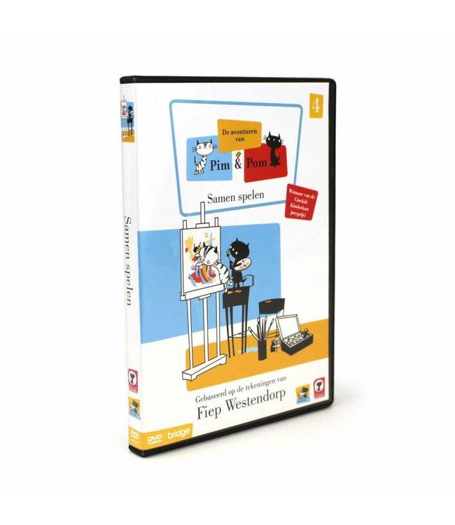 DVD (in Dutch) - Pim and Pom Part 4 - 'Samen Spelen'