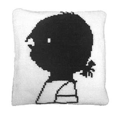 Handwerkpakketten Cross-stitch Set 'Janneke' Cushion - Fiep Westendorp
