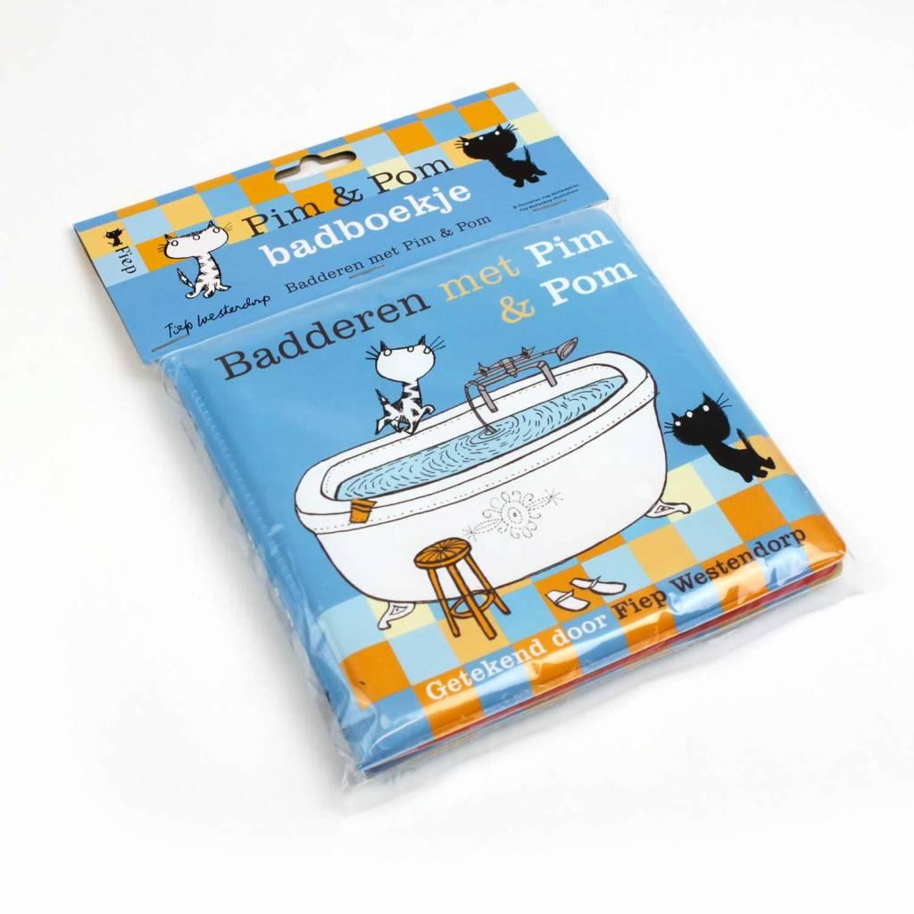 Querido Pim & Pom boekje om mee te spelen in bad!