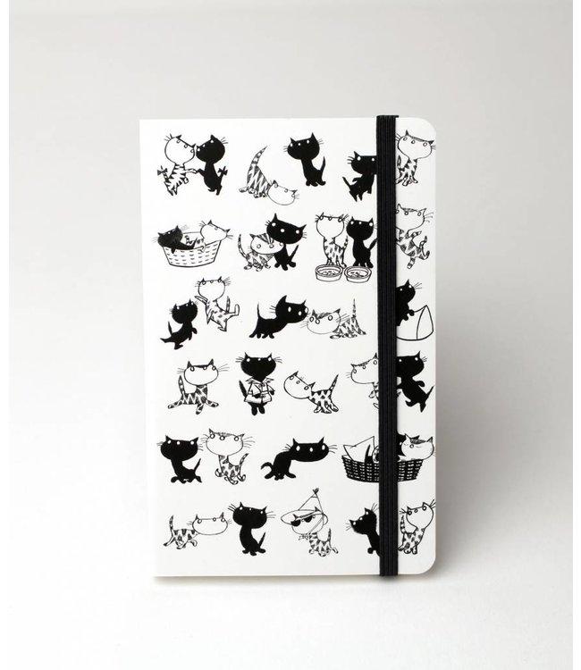 Softcover Notebook A6, Pim & Pom, Fiep Westendorp