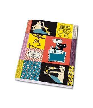 Bekking & Blitz Notebook A5 'Colourful  Fifties'