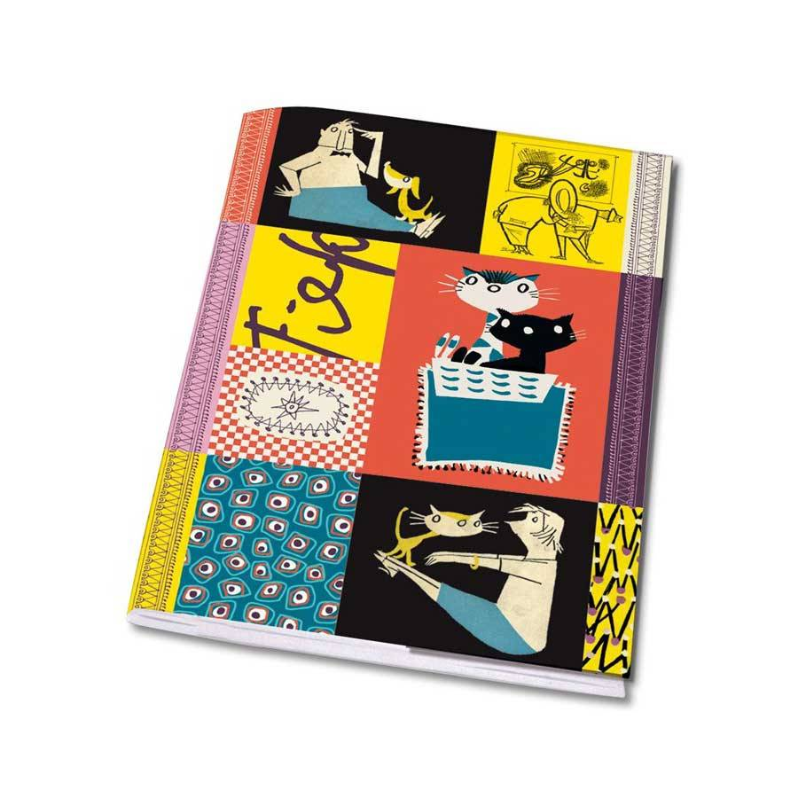 Bekking & Blitz Notebook A5 'Colourful  Fifties' - Fiep Westendorp