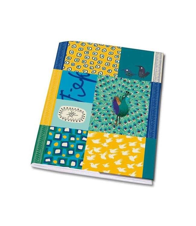 Bekking & Blitz Notebook, A5 'Peacock'