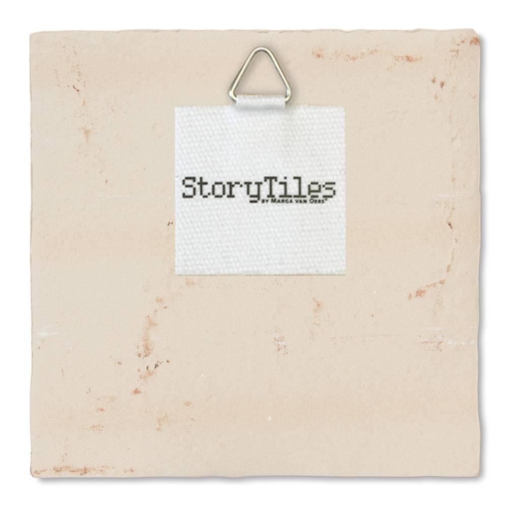 StoryTiles Fiep Westendorp Tile 'A Knight on Horseback'