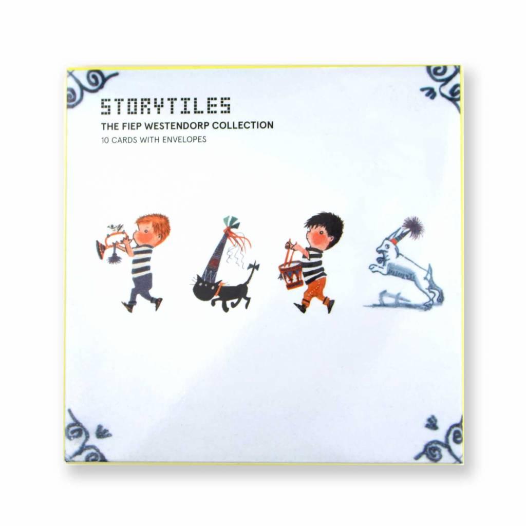 StoryTiles Ansichtkaartenmapje, StoryTiles Tegels - Fiep Westendorp Collection