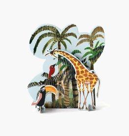 Studio Roof Tiny Story Pop Out Cards, Jungle Giraffe