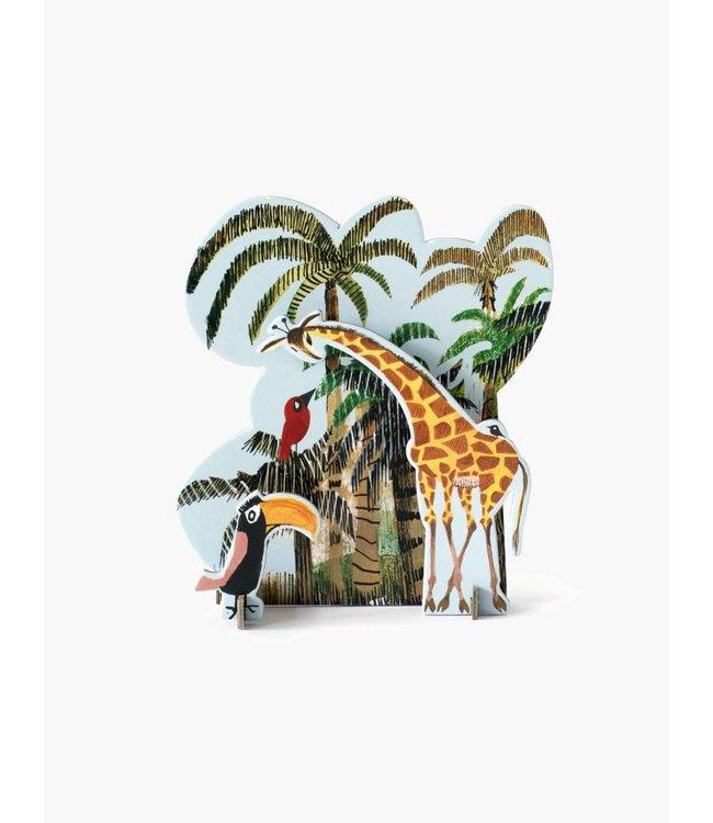 Tiny Story Pop Out Cards, Jungle Giraffe