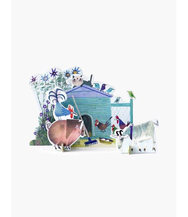 Pop-Out Card: 'De kleine boerderij'