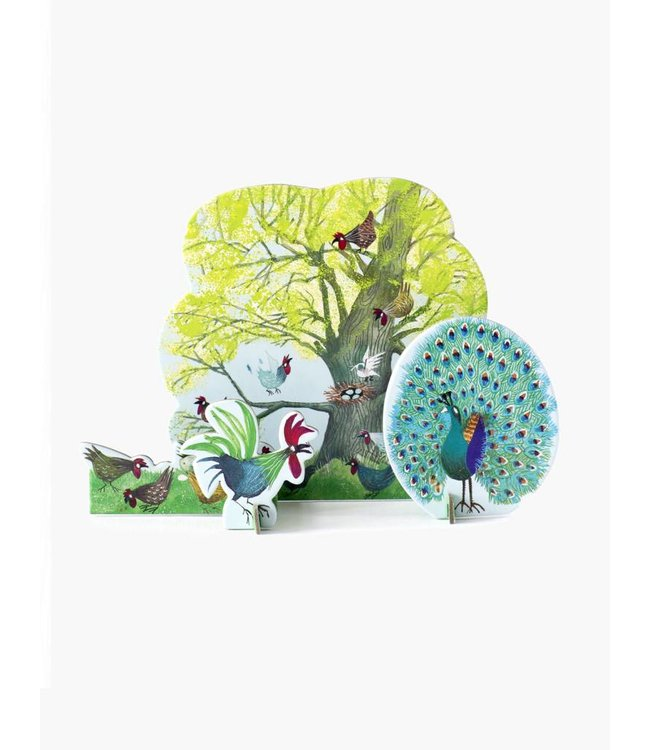 Tiny Story Pop Out Cards, Chicken tree