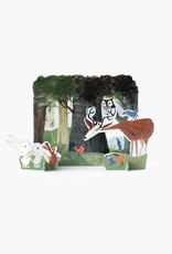 Studio Roof Tiny Story Pop Out Cards, Forest Owl