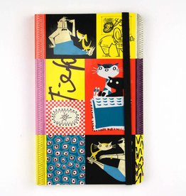 Bekking & Blitz Softcover Notebook A6,  'Colourful Fifties'