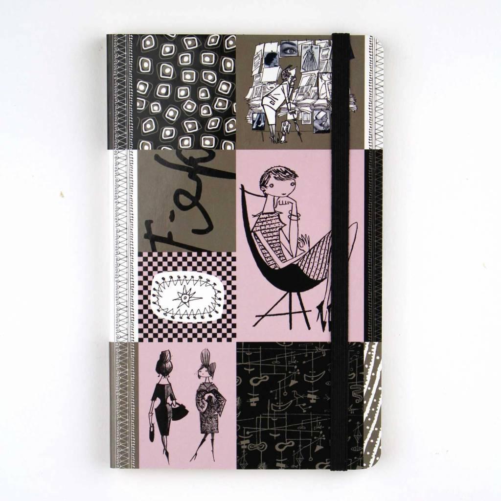 Bekking & Blitz Notitieboekje A6, 'Graphite' - Fiep Westendorp
