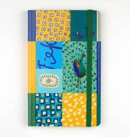 Bekking & Blitz Softcover Notebook A6,  'Peacock'