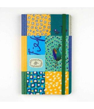 Bekking & Blitz Softcover Notebook A6,  'Peacock'