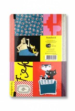 Bekking & Blitz Fiep Westendorp Softcover Notebook A5, 'Colourful Fifties'