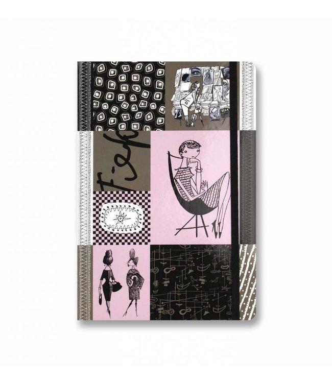Bekking & Blitz Notitieboekje A5,  'Graphite'