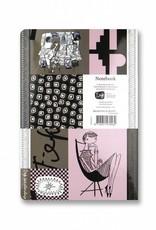 Bekking & Blitz Fiep Westendorp Softcover Notebook A5, 'Graphite'