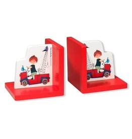 Bambolino Bookends 'The Red Tow Truck'