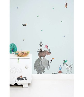 Kek Amsterdam Fiep Westendorp Wall stickers Animals / Elephant (L)