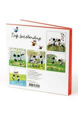 Bekking & Blitz Ansichtkaartenmapje, Jip en Janneke, Bloemen - Fiep Westendorp