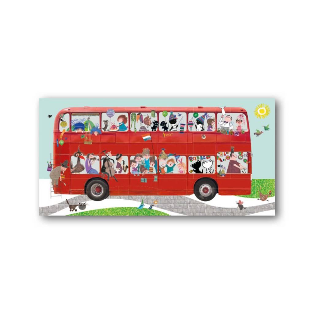 Bekking & Blitz 'Bus' XXL Kaart, Fiep Westendorp