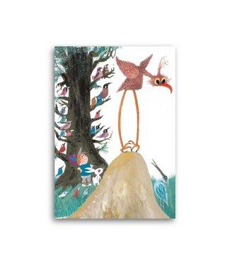 Bekking & Blitz 'Pluk with animals' Single Card
