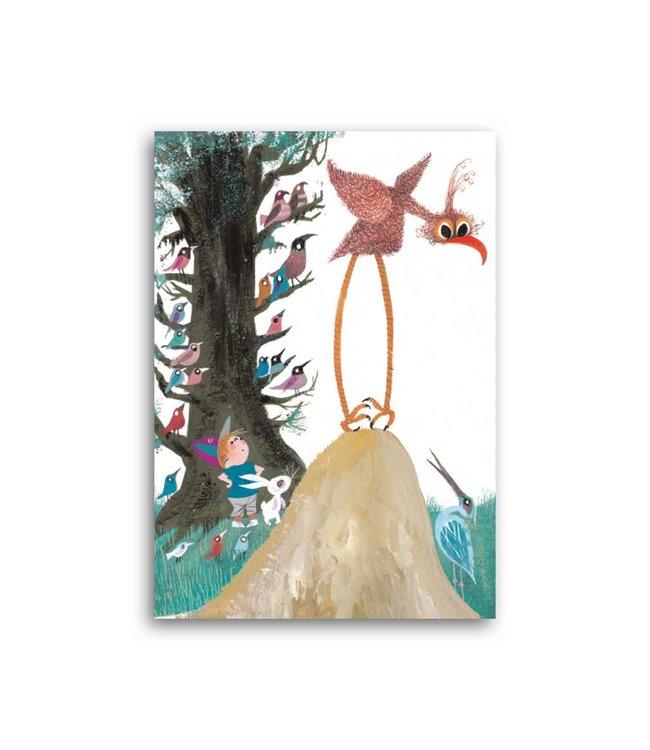'Pluk with animals' Single Card, Fiep Westendorp