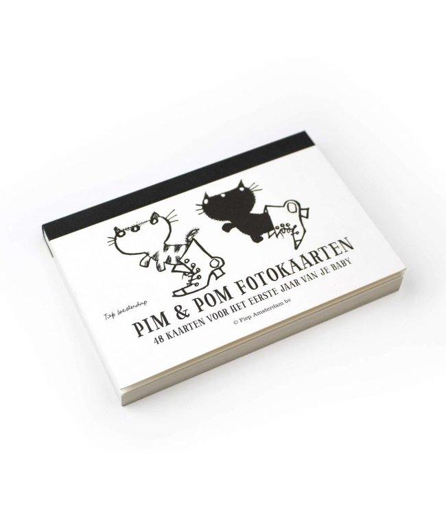 BBNC Pim en Pom fotokaarten / milestone cards