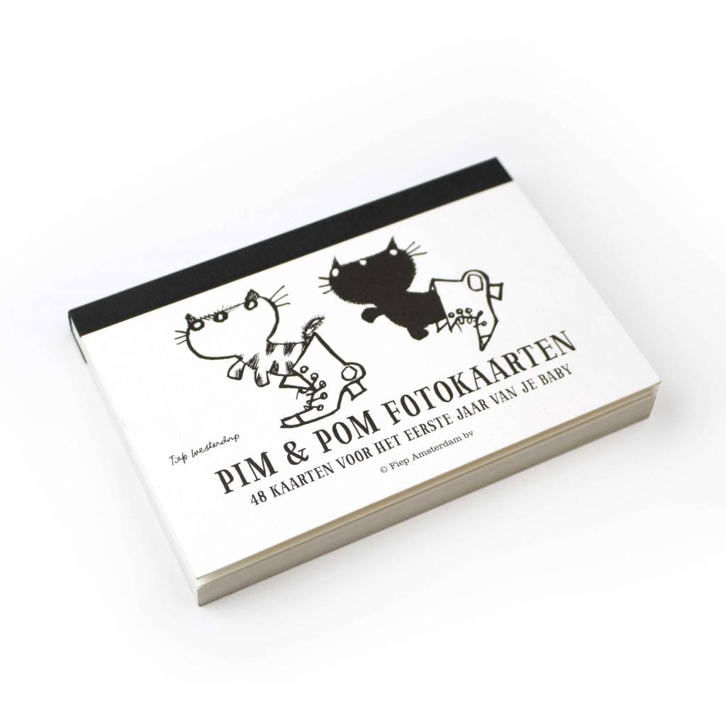 BBNC Pim and Pom milestone cards