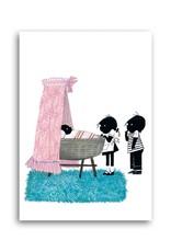 Bekking & Blitz 'Jip & Janneke near a newborn girl' Single Card, Fiep Westendorp