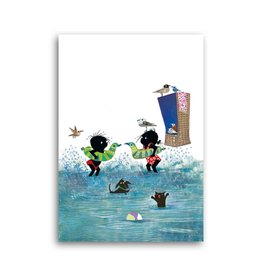 Bekking & Blitz 'Jip and Janneke in the water' Single Card